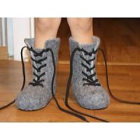 Уход за войлочной обувью