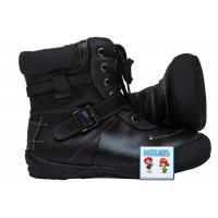 Ботинки Антилопа черные