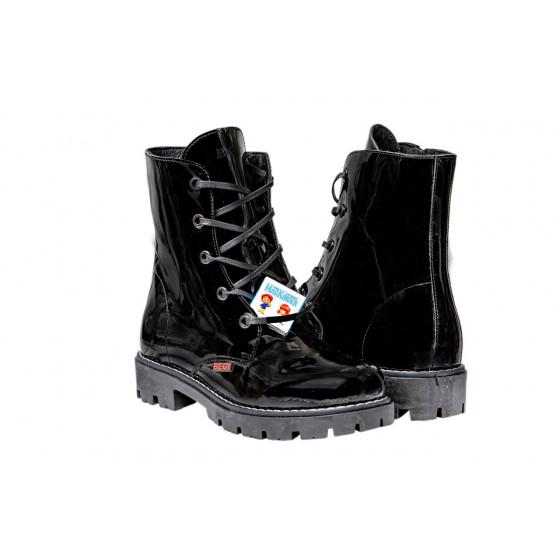 Ботинки черные BEGI B16