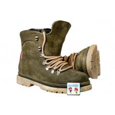 Ботинки зеленые BEGI B8