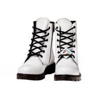 Ботинки осенние белые BEGI