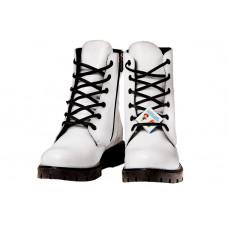 Ботинки осенние белые BEGI B18