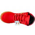 Ботинки для девушек осенние красные BEGI B15