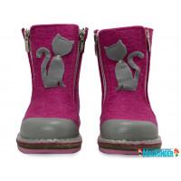 Унтоваленки Фома розовые с кошечкой