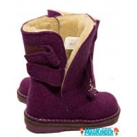 Унтоваленки Фома фиолетовые с липучками