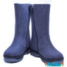 Валенки Фома cеро-голубые