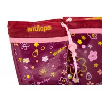 Сапоги резиновые Антилопа с цветами