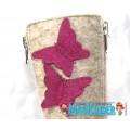 Валенки Фома c розовыми бабочками